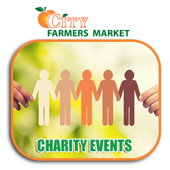 Community City Farmers Market Community Events Chairity Events Atlanta Georgia Banner