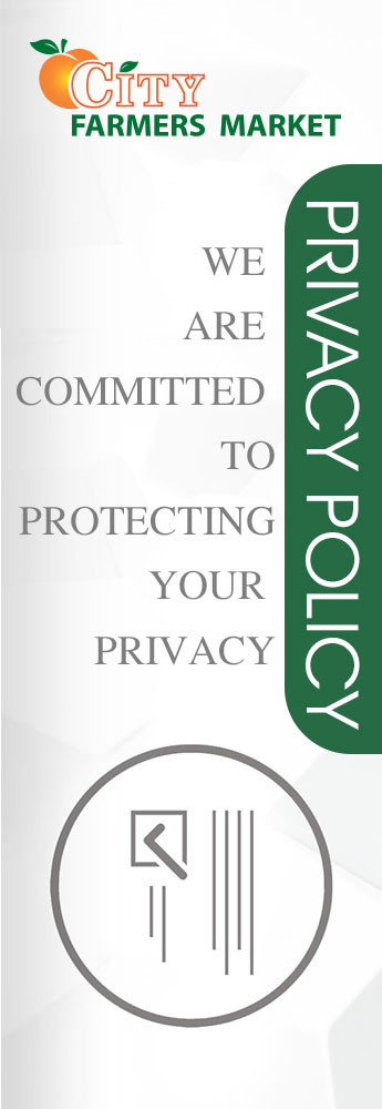 Privacy Policy City Farmers Market Privacy Policy International Supermarket in Georgia Banner