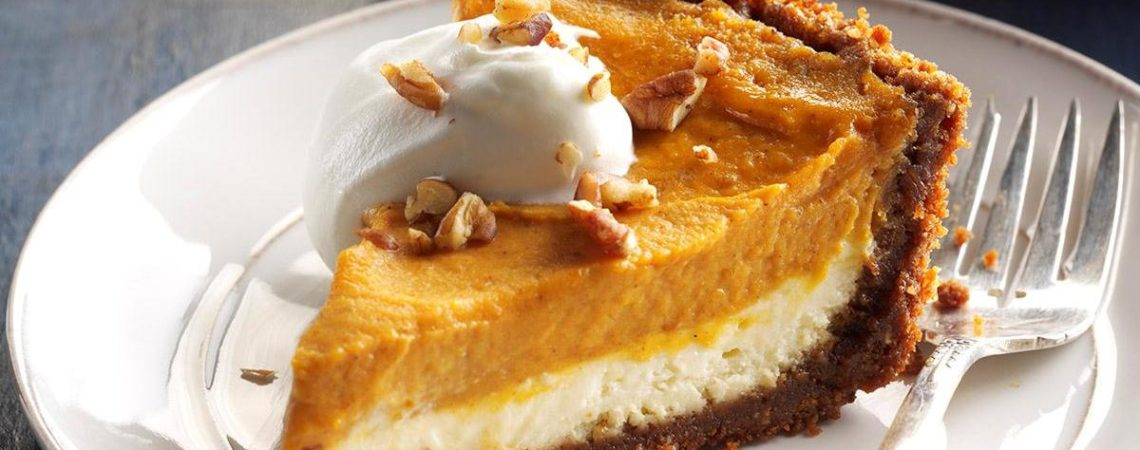 Double Layer Pumpkin Cheesecake  Double Layer Pumpkin Cheesecake CFM Double Layer Pumpkin Cheesecake 1140x450