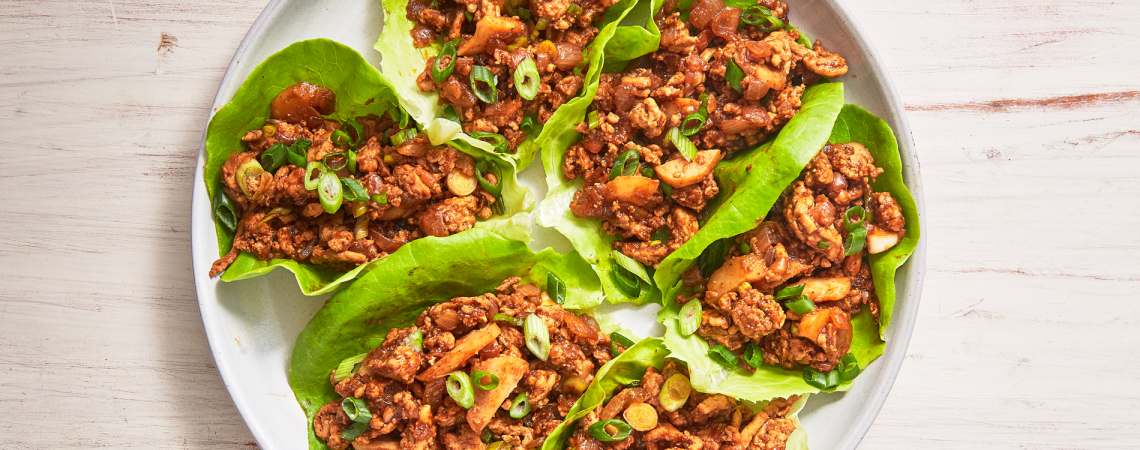 Asian Lettuce Wraps  Asian Lettuce Wraps Asian Lettuce Wraps 1140x450