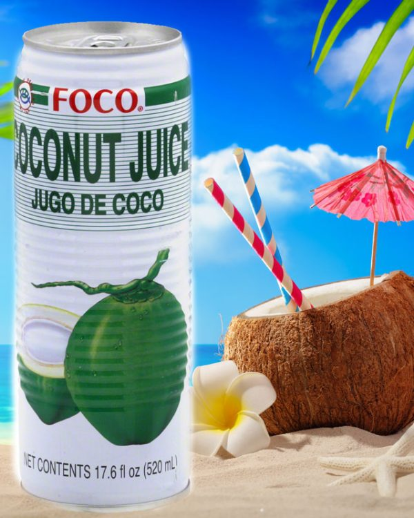 FOCO COCONUT JUICE FOCO COCONUT JUICE L 1 600x750