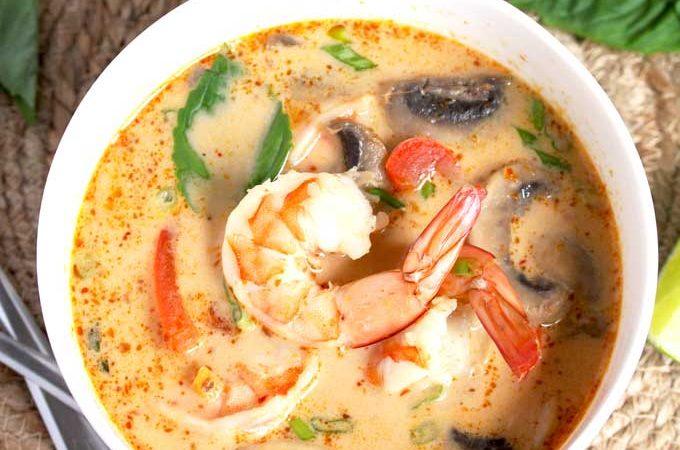 The Best Thai Coconut Soup  The Best Thai Coconut Soup The Best Thai Coconut Soup 680x450