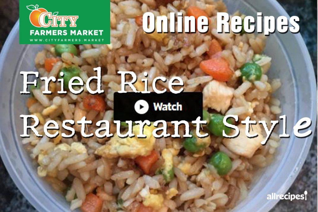 Recipes City Farmers Market Online Recipe International Supermarket Fried Rice Restaurant Style Cover 1024x684