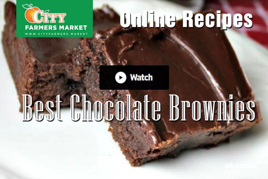 Recipes City Farmers Market Online Recipe International Supermarket Chocolate Brownies Cover 1024x684