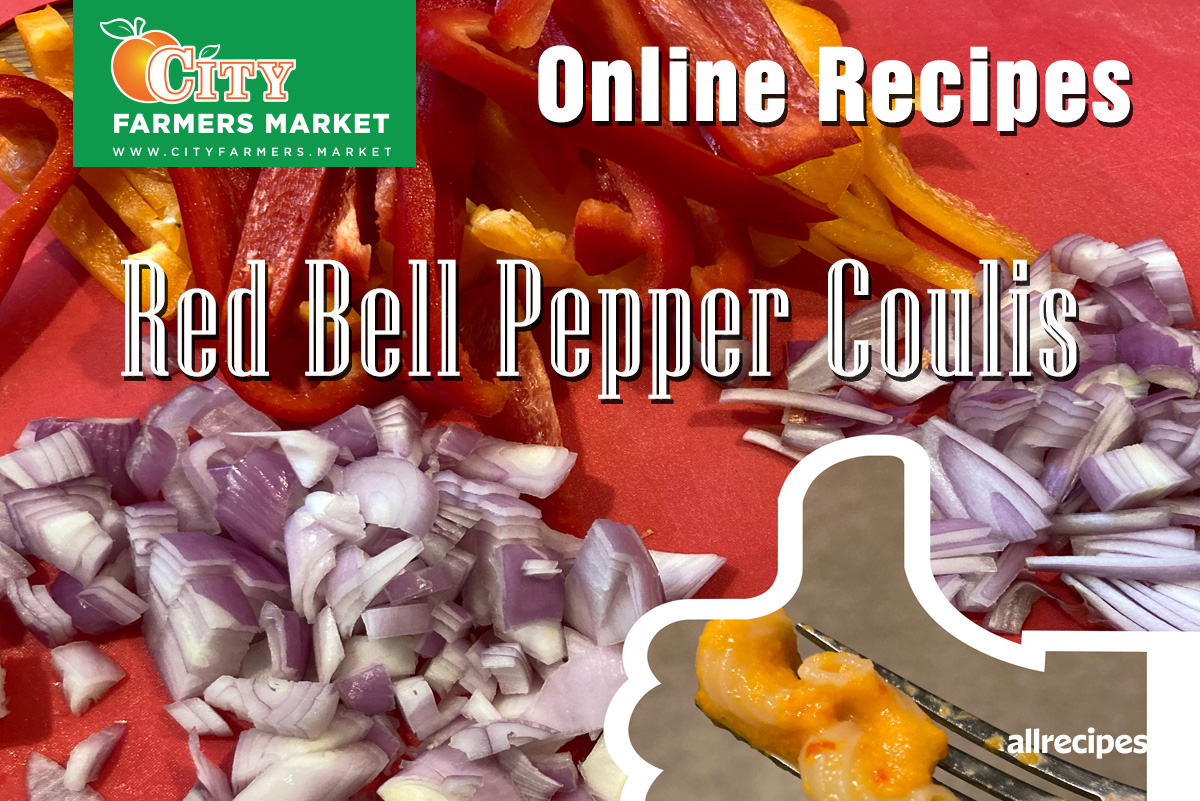 Red Bell Pepper Coulis